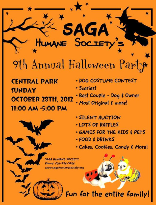 Saga 9th Annual Halloween Party