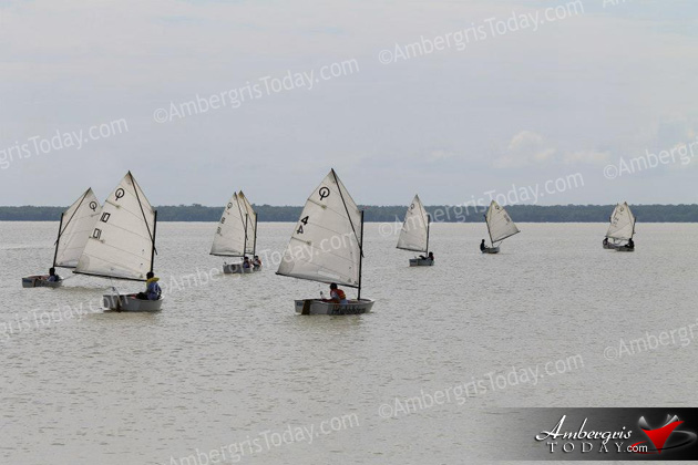 San Pedro Sailing Club Shines at Corozal Bay Regatta